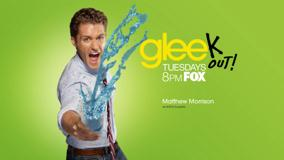 Glee &#8211; Matthew Morrison As Will Schuester Throwing Water